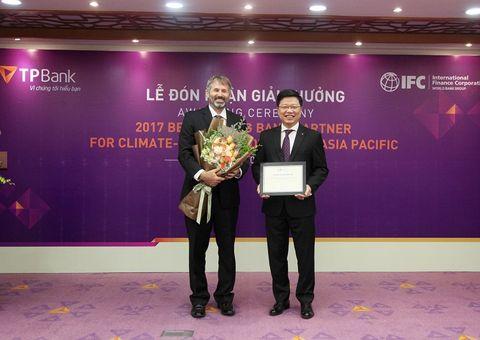 Tài chính - Doanh nghiệp - IFC trao giải thưởng danh giá cho TPBank