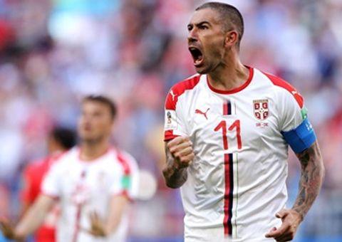 """Tin tức - Kết quả World Cup 2018: Serbia chiến thắng nhờ """"cái chân trái kỳ diệu"""" của Kolarov"""