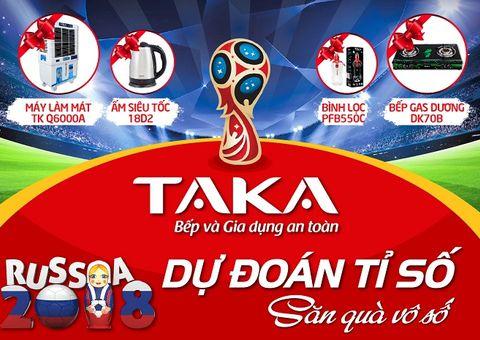 Kinh doanh - Khuấy động World Cup cùng cơn lốc quà tặng từ TAKA