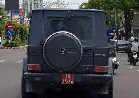 """Tin tức - Gắn biển đỏ quân đội cho """"oai"""", chủ siêu xe Mercedes sẽ nhận """"cái kết đắng"""""""