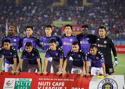 Tin tức - Đánh bại SLNA, Hà Nội FC vô địch sớm nhất lịch sử V.League
