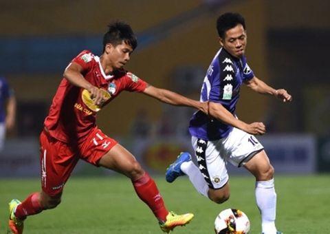 Video: Đá sân nhà, Công Phượng lập cú đúp, HAGL vẫn để thua Hà Nội FC 3-5