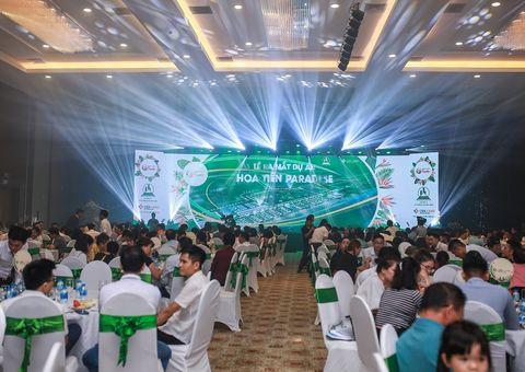"""""""Nóng"""" tại Lễ giới thiệu dự án Hoa Tiên Paradise"""