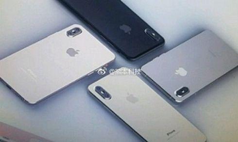 Lộ 4 màu sắc của iPhone 8