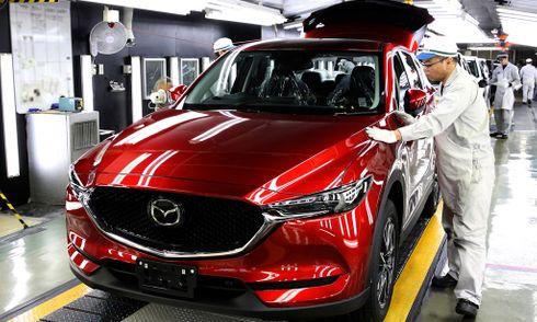 Mazda tăng công suất đáp ứng nhu cầu CX-5 2017 của khách hàng