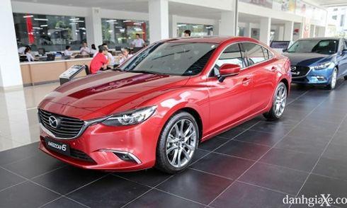 Đánh giá sơ bộ xe Mazda 6 2018