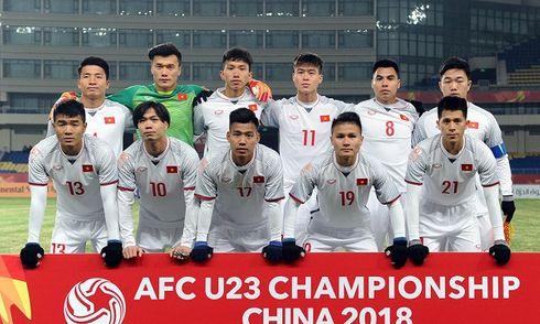 Trận bán kết U23 Việt Nam và U23 Qatar diễn ra lúc 15h ngày 23/1