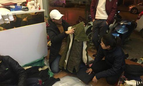 Công ty Ngọc Tú làm thiện nguyện trong đêm đông