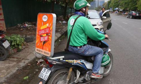 Quảng cáo trên xe máy có phải xin giấy phép?
