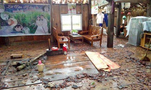 Bắc Kạn lại bị mưa đá tàn phá gây thiệt hại nặng nề