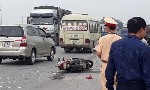 Tai nạn liên hoàn trên QL10, một người tử vong tại chỗ