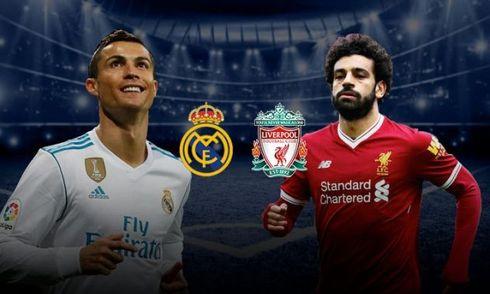 Xem trực tiếp chung kết Champions League 2017/18 Real Madrid-Liverpool ở đâu?