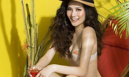 Hoa hậu Du lịch Toàn cầu 2018 Diệu Linh gợi cảm với trang phục bikini
