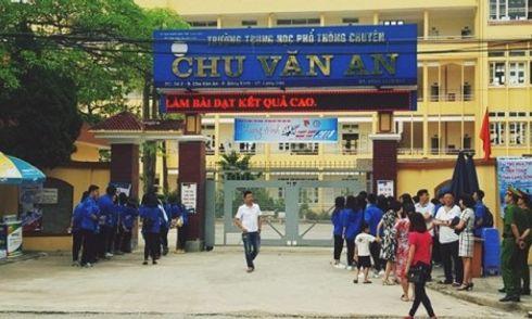 Hôm nay (21/7), công bố kết quả rà soát điểm thi bất thường ở Lạng Sơn
