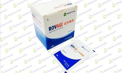 Không đạt tiêu chuẩn, thuốc cốm ROVAGI bị thu hồi