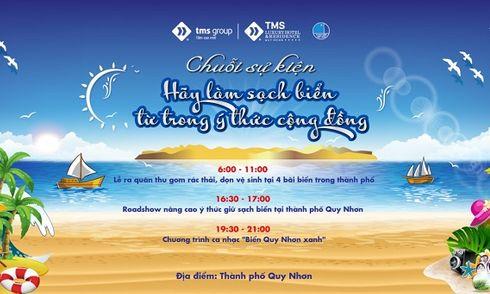 TMS Group: Hơn 1000 người ra quân làm sạch biển Quy Nhơn