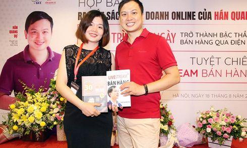 Buổi ra mắt 2 cuốn sách về kinh doanh online của thầy Hán Quang Dự