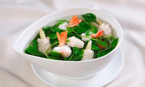 Món ngon mỗi ngày: Canh mồng tơi nấu tôm thanh mát, giải ngán hiệu quả sau Tết
