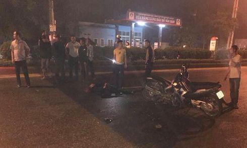 Khởi tố vụ án xe máy kẹp 3 tông chết Đại úy cảnh sát cơ động
