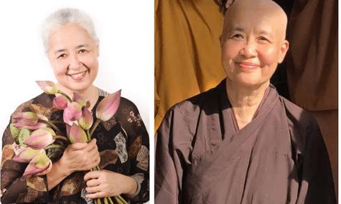 Nữ đầu bếp nổi tiếng Cẩm Vân bất ngờ xuống tóc đi tu