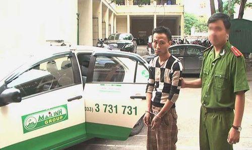"""""""Côn đồ"""" chém tài xế, cướp taxi đem bán - Ảnh 1"""