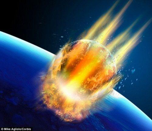 Vật thể lạ sẽ va chạm với Trái đất vào hôm nay - Ảnh 1
