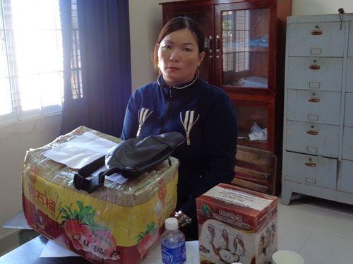 Bắt giữ người phụ nữ chở 20kg thuốc nổ đi bán - Ảnh 1