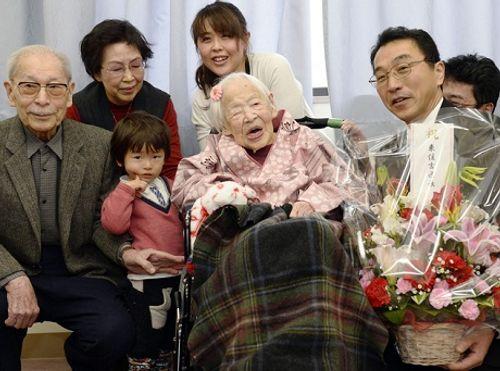 Cụ bà cao tuổi nhất thế giới qua đời ở tuổi 117 - Ảnh 1
