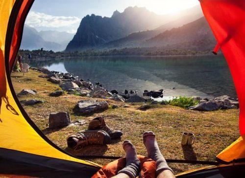 20 bức ảnh thiên nhiên tuyệt đẹp chụp từ lều trại - Ảnh 11