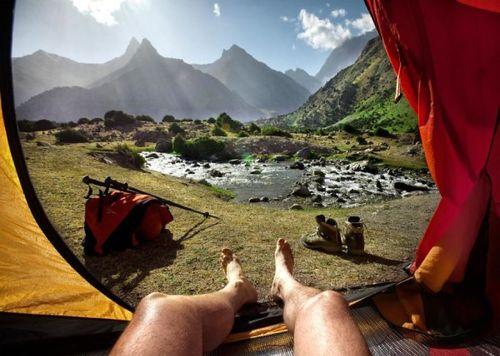20 bức ảnh thiên nhiên tuyệt đẹp chụp từ lều trại - Ảnh 13