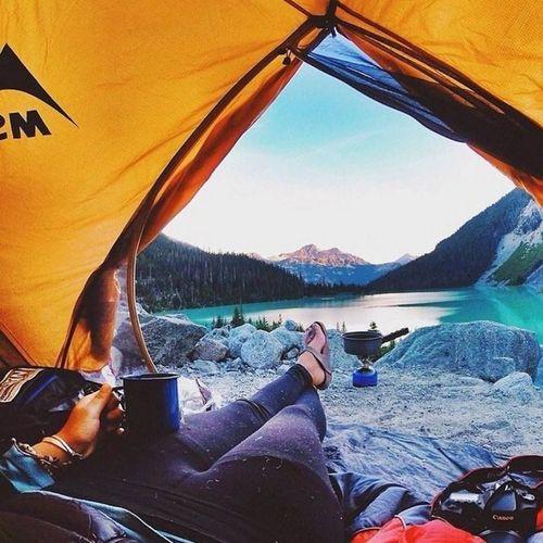 20 bức ảnh thiên nhiên tuyệt đẹp chụp từ lều trại - Ảnh 2
