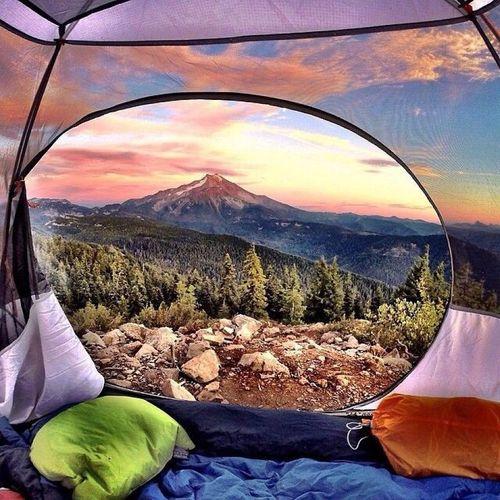 20 bức ảnh thiên nhiên tuyệt đẹp chụp từ lều trại - Ảnh 4