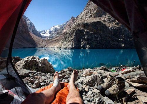20 bức ảnh thiên nhiên tuyệt đẹp chụp từ lều trại - Ảnh 5