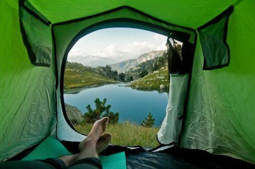 20 bức ảnh thiên nhiên tuyệt đẹp chụp từ lều trại - Ảnh 6