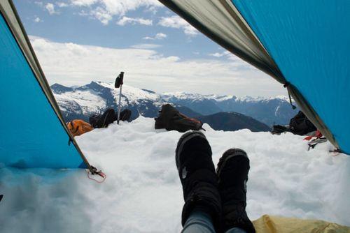 20 bức ảnh thiên nhiên tuyệt đẹp chụp từ lều trại - Ảnh 8