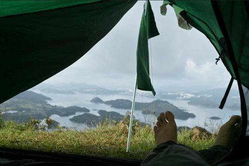 20 bức ảnh thiên nhiên tuyệt đẹp chụp từ lều trại - Ảnh 9