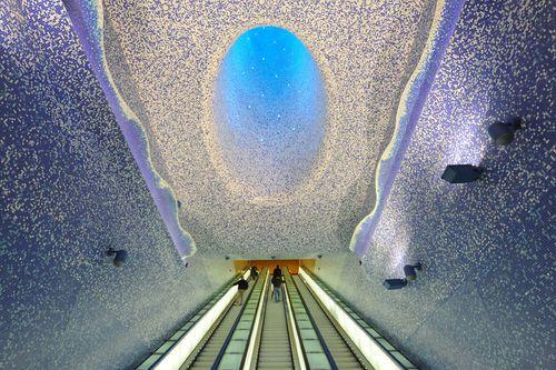 15 ga tàu điện ngầm đẹp nhất thế giới - Ảnh 4