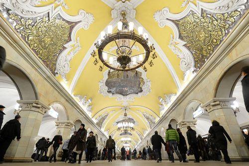 15 ga tàu điện ngầm đẹp nhất thế giới - Ảnh 1