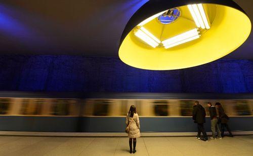 15 ga tàu điện ngầm đẹp nhất thế giới - Ảnh 11