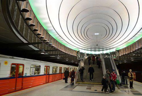 15 ga tàu điện ngầm đẹp nhất thế giới - Ảnh 13