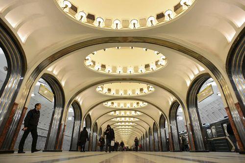 15 ga tàu điện ngầm đẹp nhất thế giới - Ảnh 2