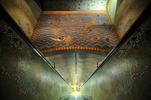 15 ga tàu điện ngầm đẹp nhất thế giới - Ảnh 5