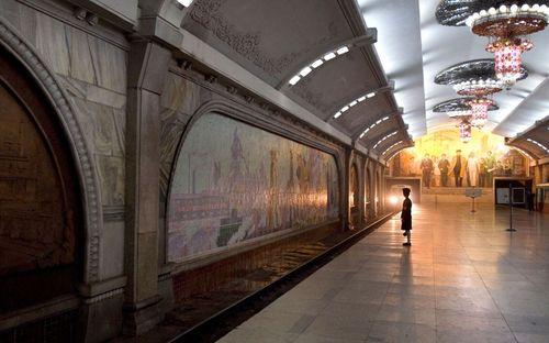 15 ga tàu điện ngầm đẹp nhất thế giới - Ảnh 9