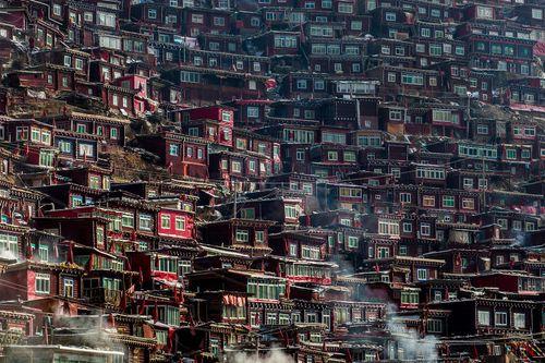 Cận cảnh Học viện Phật giáo lớn nhất thế giới - Ảnh 5