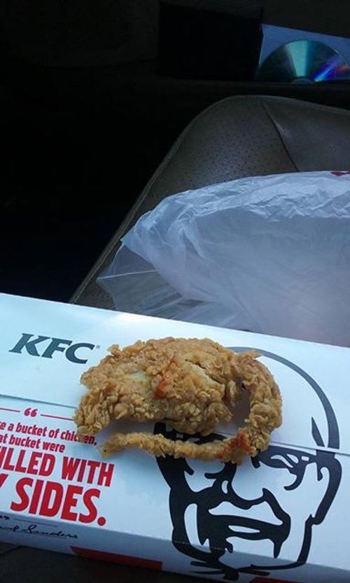 Mỹ: Kinh hoàng phát hiện miếng gà KFC là chuột chiên nguyên con - Ảnh 1