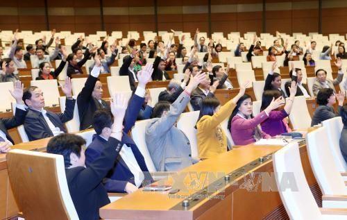 Lấy ý kiến cử tri đối với người ứng cử đại biểu Quốc hội khóa XIV - Ảnh 1