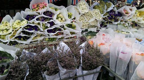 Chợ hoa Quảng Bá nhộn nhịp trước ngày 8/3 - Ảnh 8