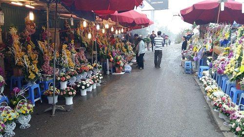 Chợ hoa Quảng Bá nhộn nhịp trước ngày 8/3 - Ảnh 4