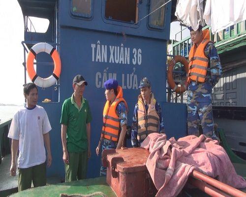 Cảnh sát biển VN kiên quyết đấu tranh trấn áp tội phạm trên biển - Ảnh 1