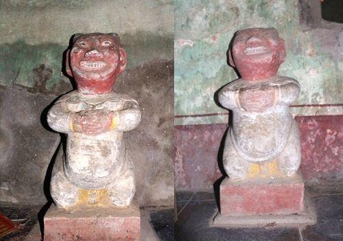 Ngôi đền lưu giữ một số pho tượng cổ bằng đá  - Ảnh 3
